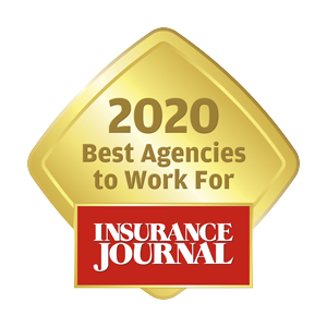 Award - Best Agency 2020 Insurance Journal